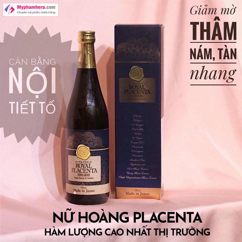 Nước uống Royal Placenta 500.000 giá bao nhiêu
