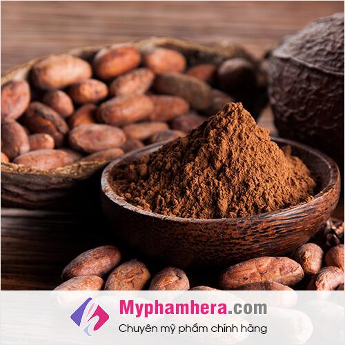 tác dụng làm đẹp của cacao mỹ phẩm hera