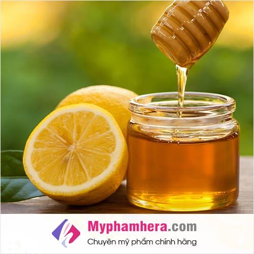 cách thải độc thanh lọc cơ thể bằng mật ong chanh mỹ phẩm hera