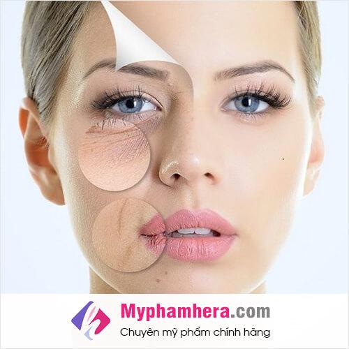 collagen có tác dụng gì đối với làn da mỹ phẩm hera