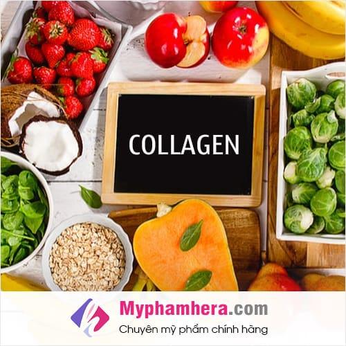 collagen có trong loại thực phẩm nào nhiều nhất mỹ phẩm hera