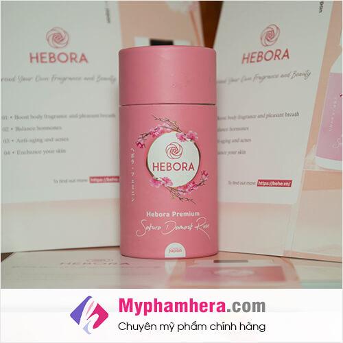 triển lãm viên uống Hebora premium mỹ phẩm hera