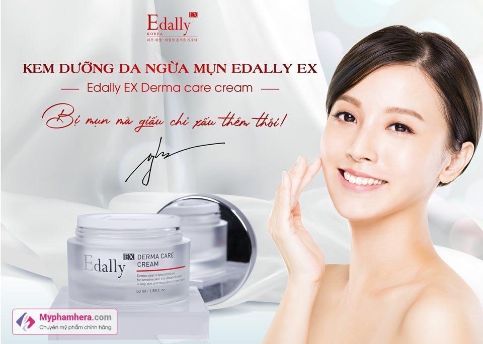 Kem dưỡng da ngừa mụn Edally Ex Derma Care Cream