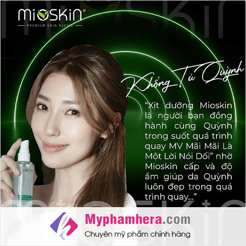 review của khổng tú quỳnh về mioskin myphamhera.com