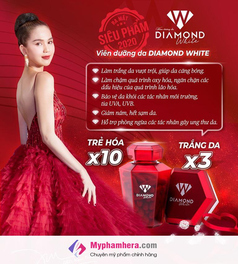 vì sao bạn nên chọn viên uống diamond white myphamhera.com
