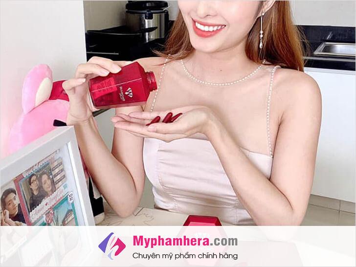 cách lựa chọn viên uống dưỡng trắng da toàn thân tốt myphamhera.com