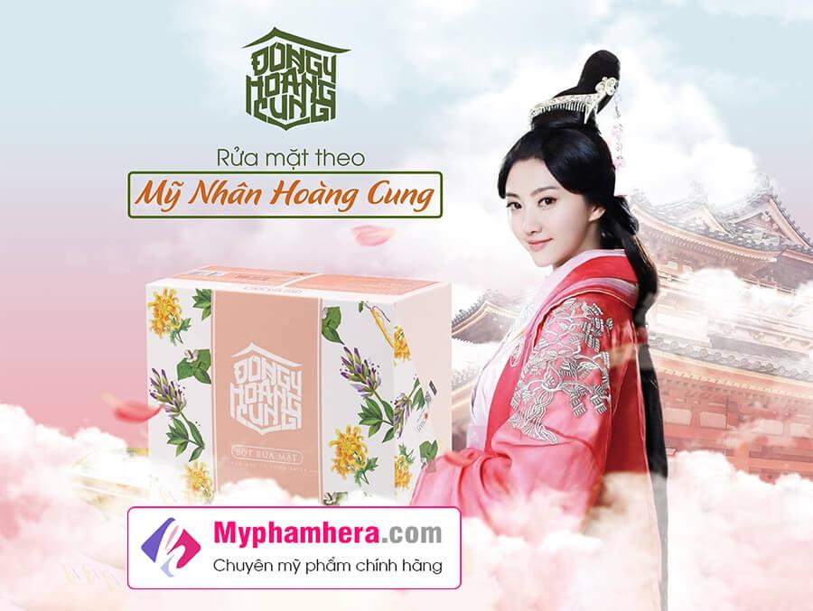 công dụng bột rửa mặt đông y hoàng cung myphamhera.com
