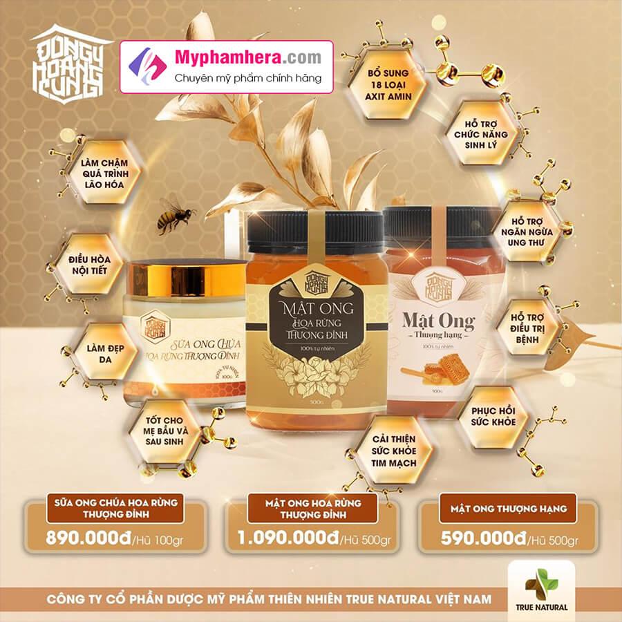 công dụng mật ong hoa rừng thượng đỉnh myphamhera.com