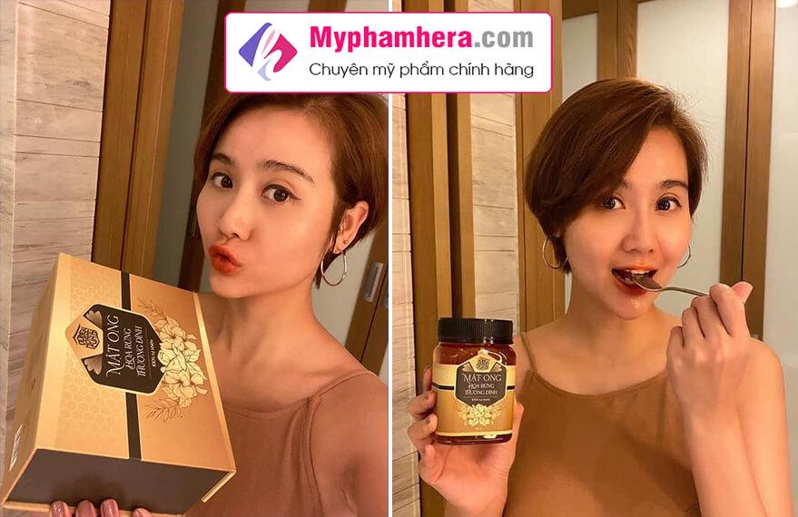 hướng dẫn sử dụng mật ong rừng thượng đỉnh myphamhera.com