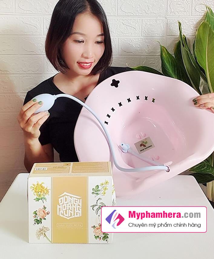 hướng dẫn sử dụng thảo dược dưỡng ngâm phụ khoa đông y hoàng cung myphamhera.com