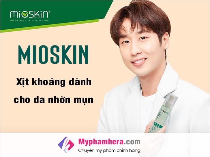 mioskin xịt khoáng nào dành cho da nhờn mụn myphamhera.com