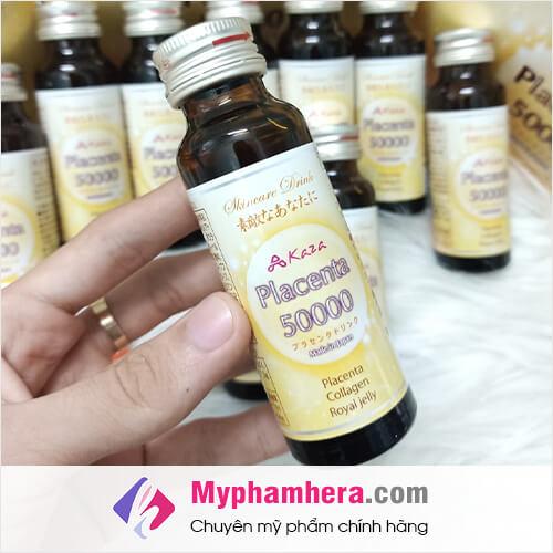 hình nước uống nhau thai kaza placenta 50.000mg myphamhera.com