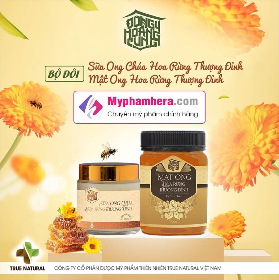 thành phần mật ong hoa rừng thượng đỉnh myphamhera.com