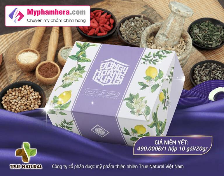 thành phần thảo dược dưỡng xông ngâm chân đông y hoàng cung myphamhera.com