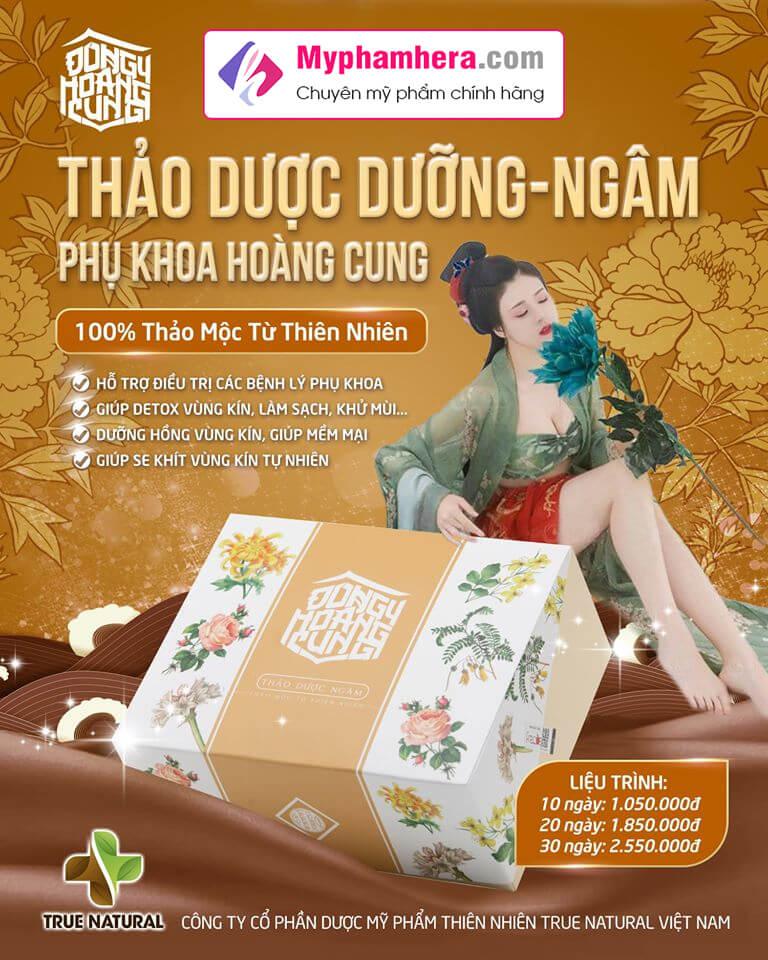 thảo dược dưỡng ngâm phụ khoa đông y hoàng cung myphamhera.com