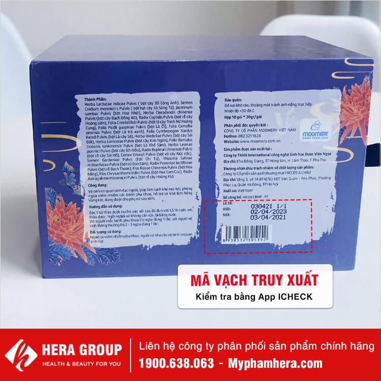 thảo dược ngâm phụ khoa đông y hoàng cung chính hãng myphamhera.com