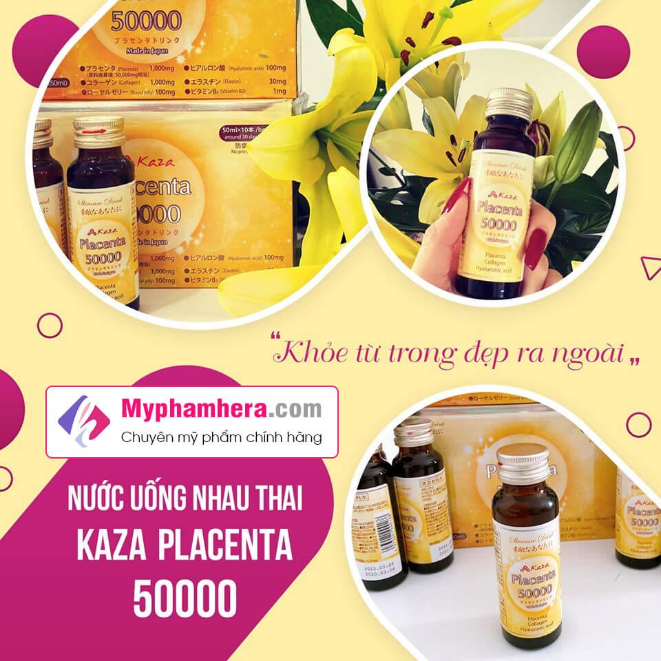 vì sao bạn nên chọn kaza placenta 50000mg myphamhera.com