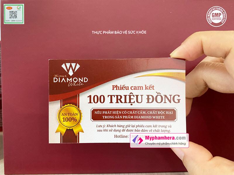 Cách Phân Biệt Viên Uống Trắng Da Diamond White Hàng Thật Chính Hãng