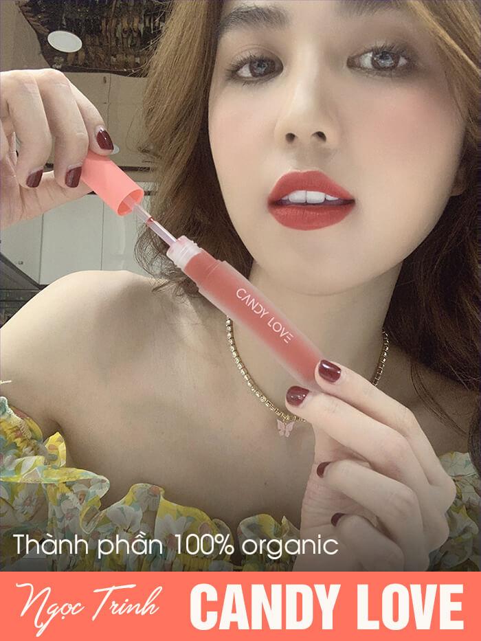 thành phần son môi candy love ngọc trinh myphamhera.com