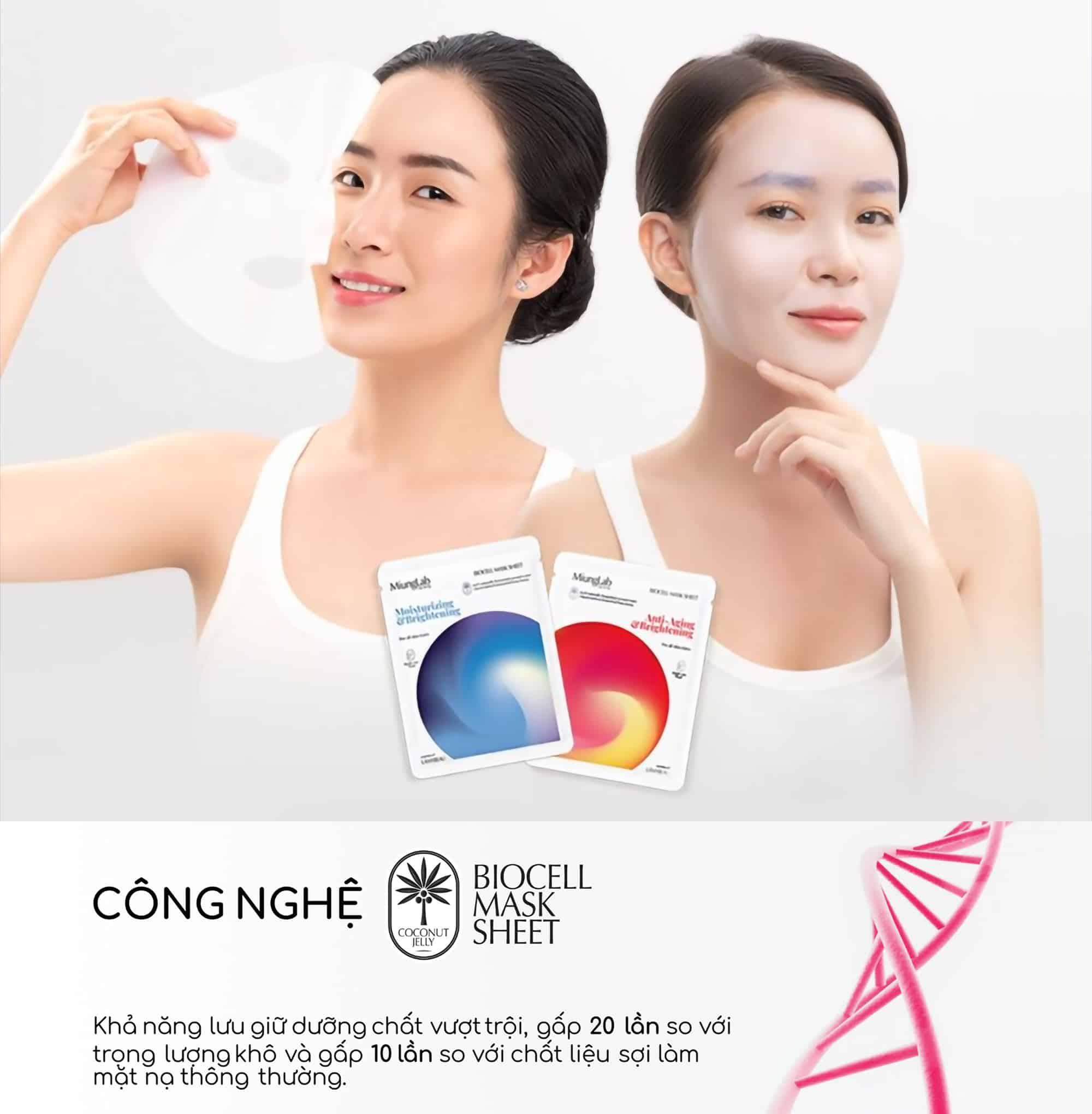 uu điểm vượt trội của mặt nạ miung lab hàn quốc myphamhera.com