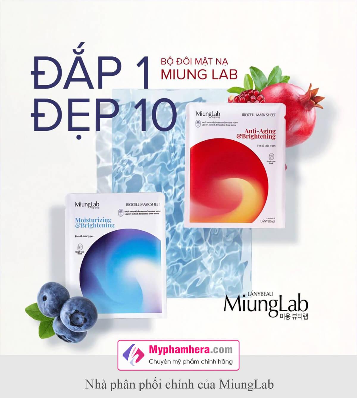 vì sao bạn nên chọn mặt nạ miung lab myphamhera.com