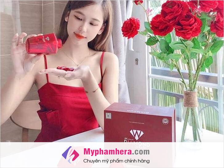 viên uống trắng da có tác dụng phụ không myphamhera.com