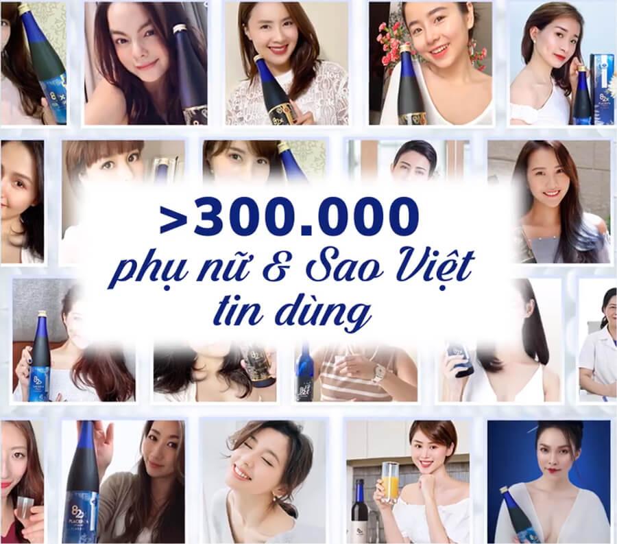 3000 phụ nữ và sao tin dùng nước uống 82x collagen myphamhera.com