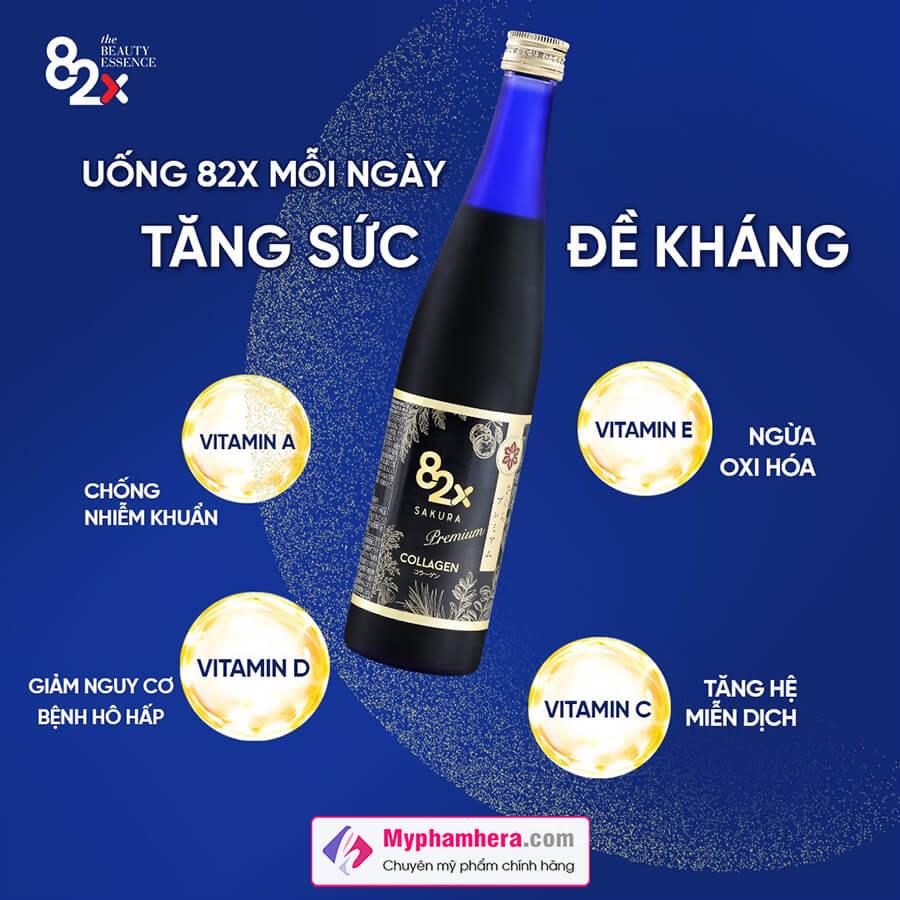 công dụng nước uống 82x sakura collagen myphamhera.com