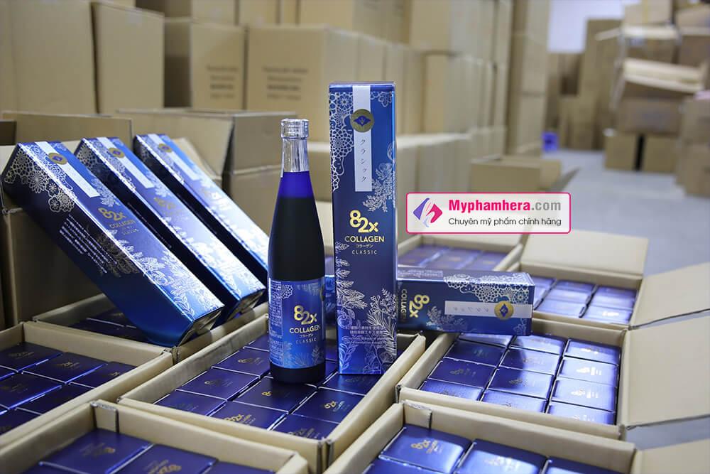 mua nước uống collagen 82x chính hãng ở đâu myphamhera.com