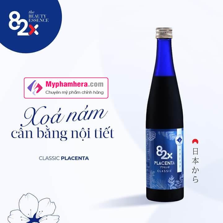 nước uống 82x collagen placenta myphamhera.com