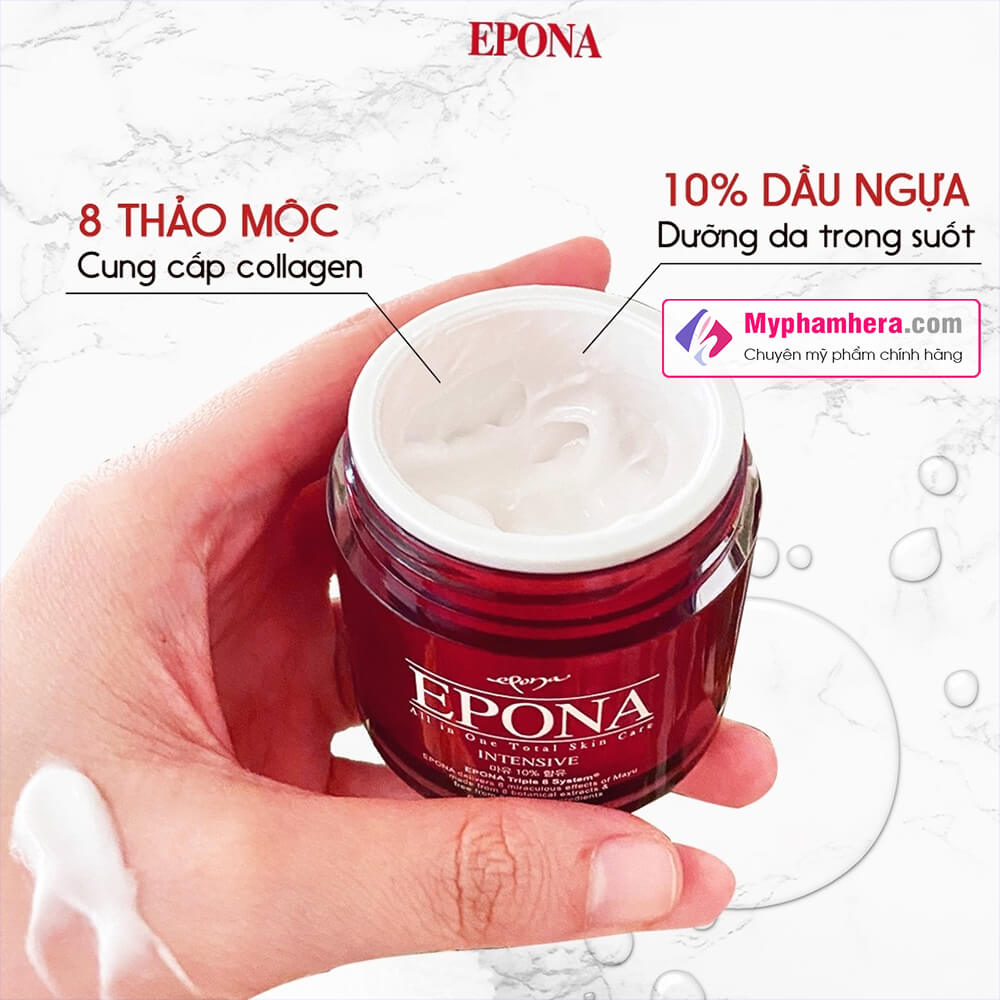 thành phần kem dưỡng dầu ngựa epona all in one myphamhera.com