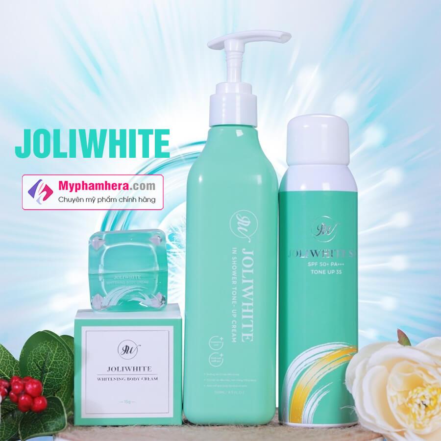 banner combo ủ trắng joli white hàn quốc myphamhera.com