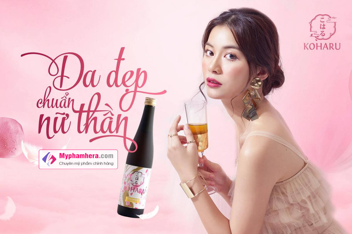 banner nước uống collagen koharu myphamhera.com