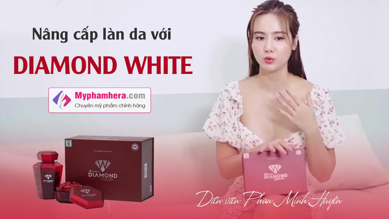 phan minh huyền nâng cấp làn da với diamond white myphamhera.com