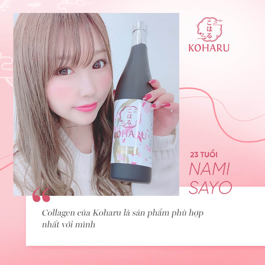 review collagen koharu myphamhera.com