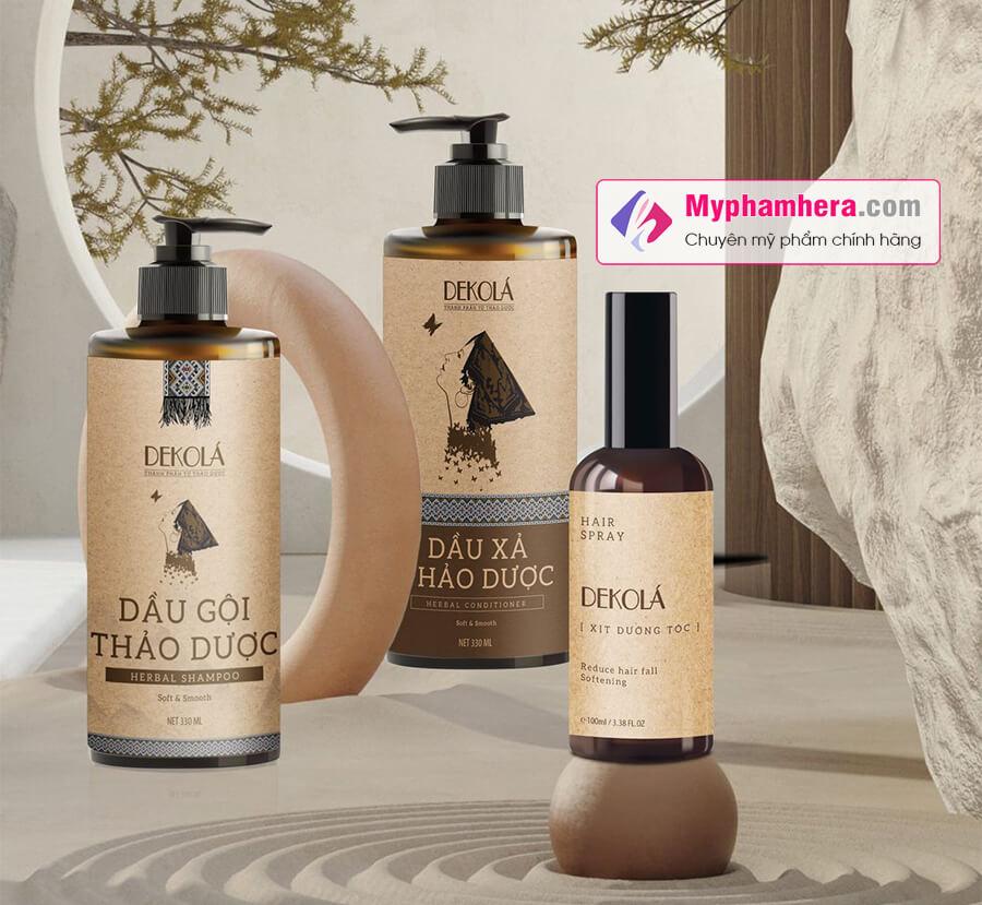 thành phần dầu gội thảo dược dekola myphamhera.com