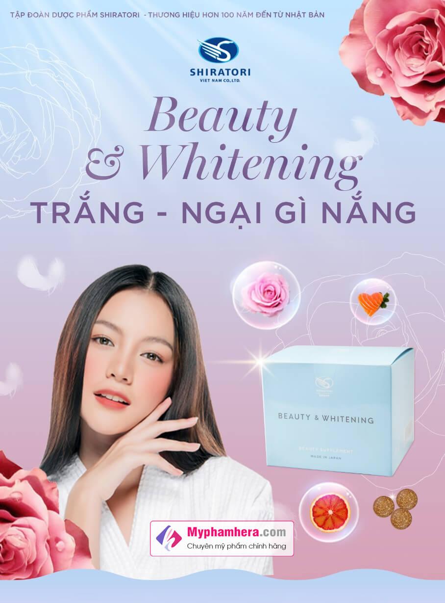 vì sao bạn nên chọn viên uống shiratori beauty whitening myphamhera.com