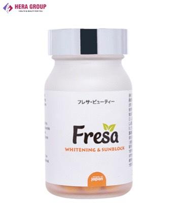 Viên uống trắng da và chống nắng nội sinh Fresa
