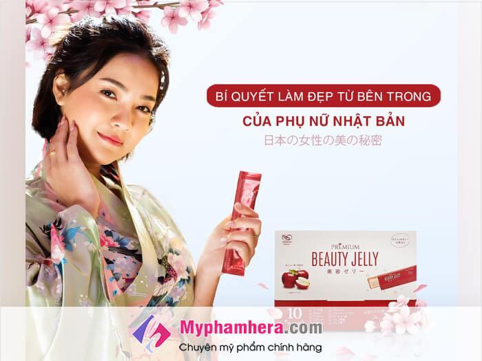 Review Thạch ăn làm đẹp Shiratori Beauty Jelly có tốt không-myphamhera.com