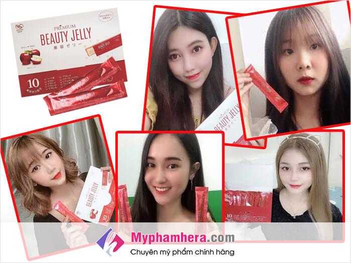 Review Thạch ăn làm đẹp Shiratori Beauty Jelly từ khách hàng-myphamhera.com