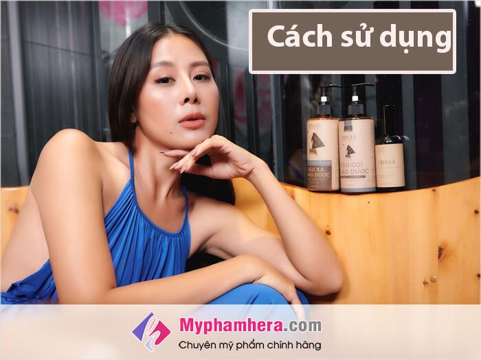 Cách sử dụng dầu gội Dekola-myphamhera.com