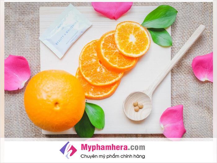 Hướng dẫn cách dùng viên trắng da Shiratori Beauty&Whitening-myphamhera.com