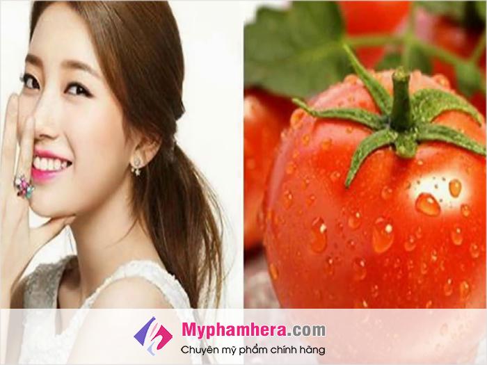 Cách làm trắng da tại nhà bằng cà chua