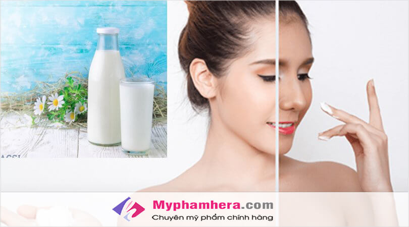 Làm trắng da bằng sữa tươi kết hợp với lại dầu oliu