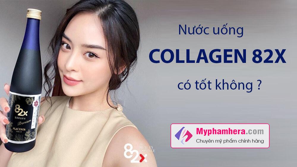 Nước uống Collagen 82x có tốt không-myphamhera.com