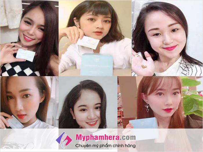 Review về viên uống trắng da Shiratori Beauty&Whitening-myphamhera.com