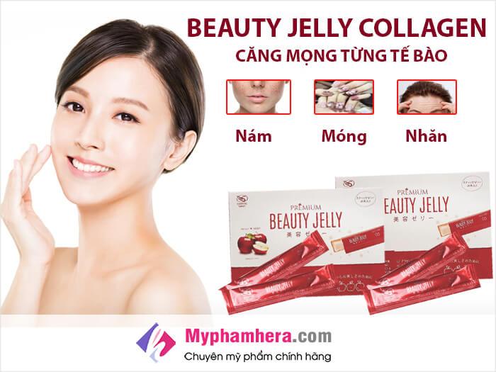 Tác dụng của việc sử dụng thạch ăn Beauty Jelly-myphamhera.com