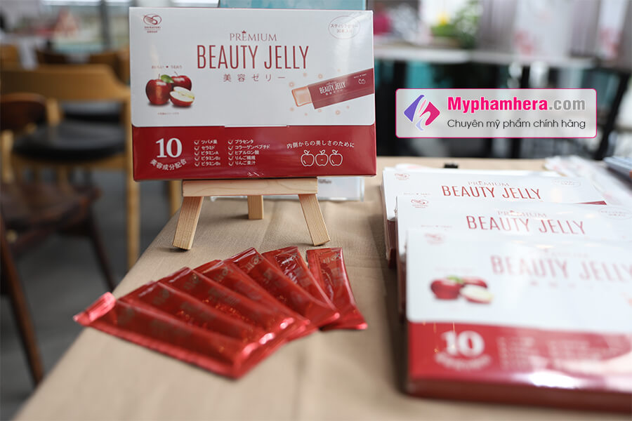 thạch ăn làm đẹp shiratori beauty jelly chính hãng mua ở đâu myphamhera.com