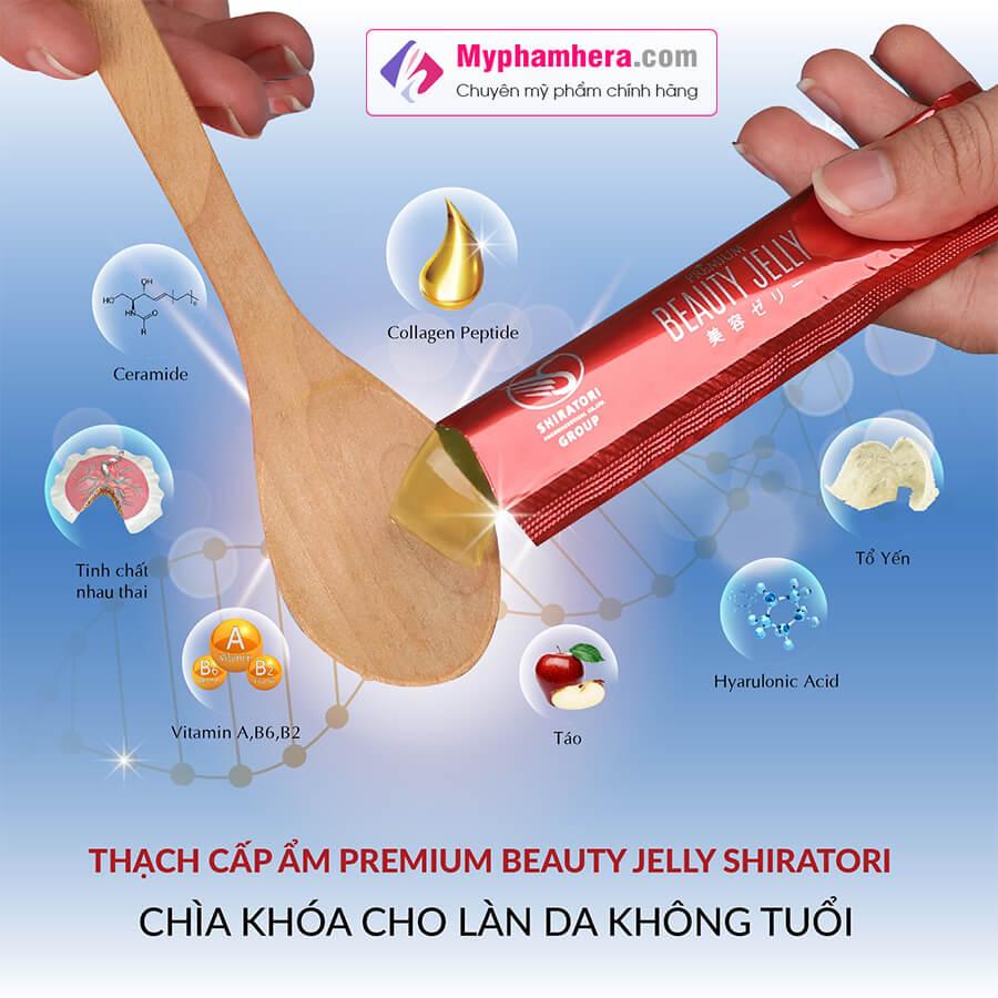 thành phần thạch ăn shiratori beauty jelly myphamhera.com