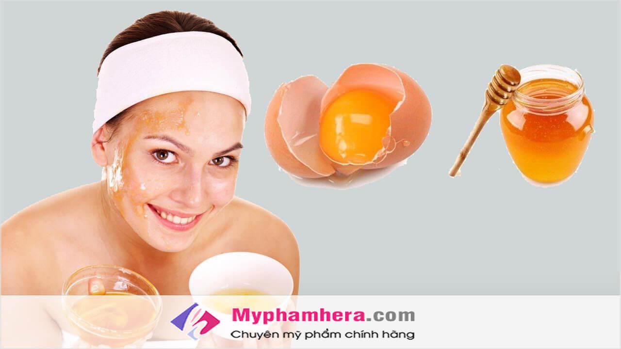Đắp mặt nạ trứng gà để có làn da đẹp